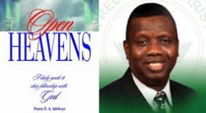 Open Heavens Adeboye